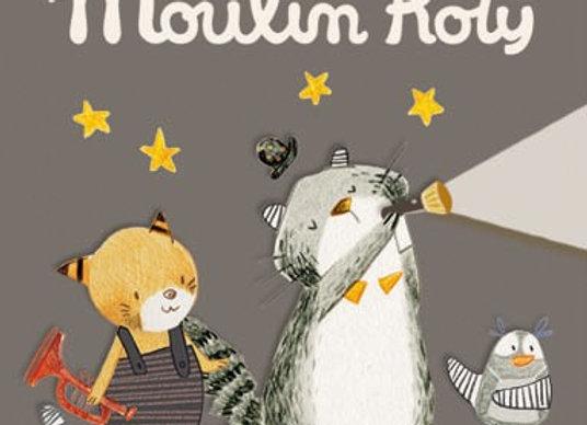Boîte de 3 disques pour lampe à histoires Les Moustaches - Moulin Roty