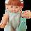 Thumbnail: Salopette froufrou gaufrette vert - Maman poule et papa coq