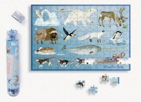 Mini puzzle La banquise 150 pièces Le Jardin du Moulin - Moulin Roty