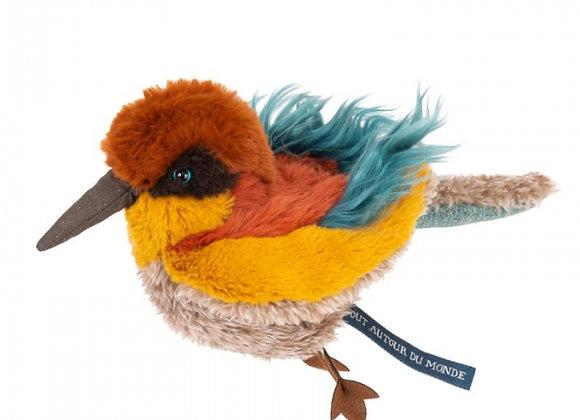 Peluche oiseau guêpier Tout autour du monde - Moulin Roty