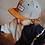 Thumbnail: Casquette daim Suede Street Grey - Hello Hossy