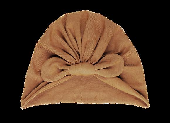 Bonnet noué camel - Bonjour Little