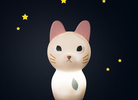 Veilleuse chat (USB) Après la pluie - Moulin Roty