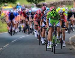 Cyclists-peleton
