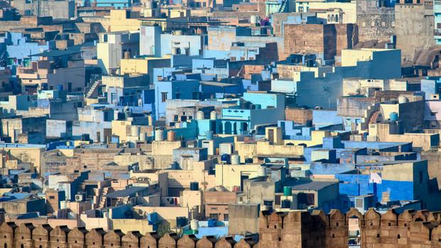 The Blue City, Jodhpur India.