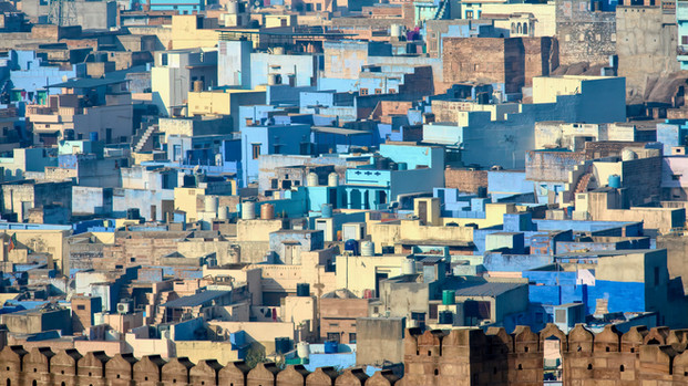 The Blue City, Jodhpur India.