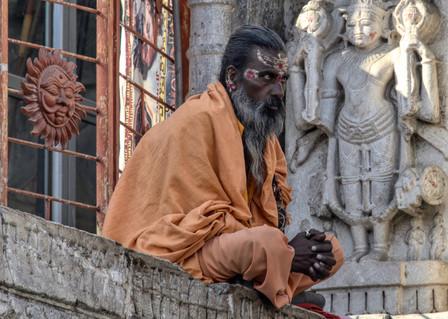 Temple guru, Udaipur.