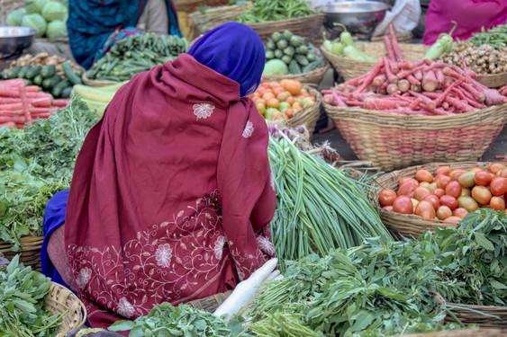 Market Seller, Udaipur.