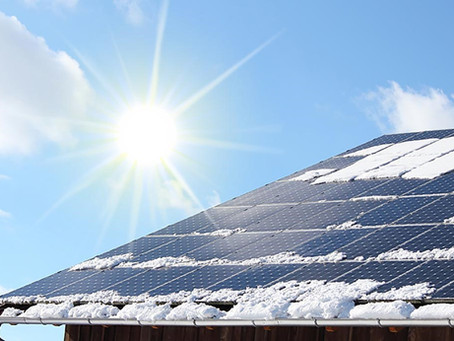 Solar Myth 1: Solar PV systems don't work in Canada because we get so much snow!