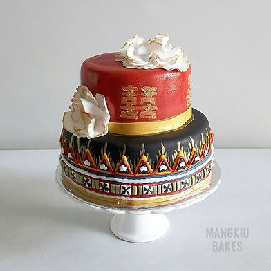 Chinese Bajau Wedding Cake