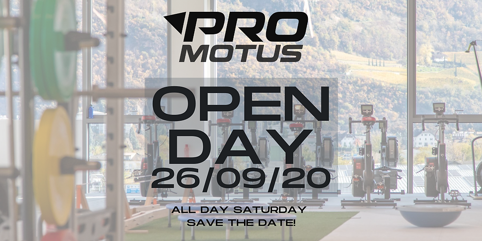 Pro Motus OPEN DAY