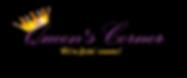 Queen's Corner Logo With Slogan.png