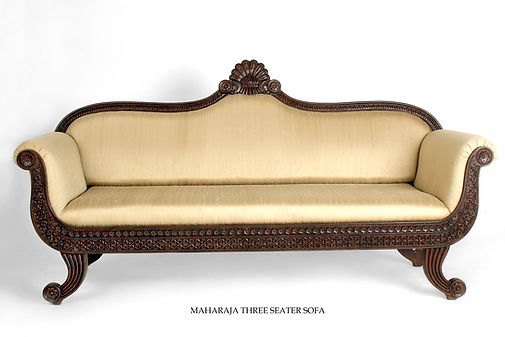 Maharaja Three seater Sofa