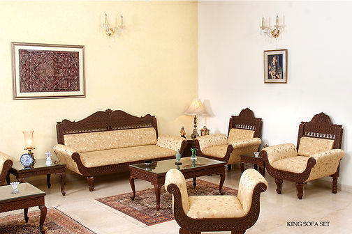 King design Sofa set