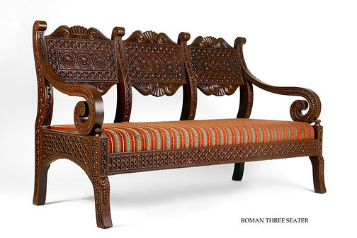 Roman design three seater