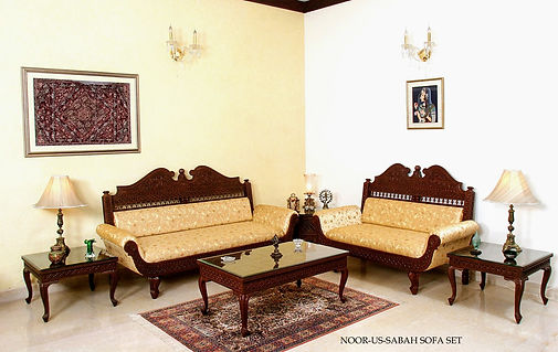 Noor-Us-Sabah Sofa set