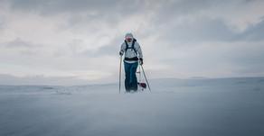 First kilometers on Finnmarksvidda
