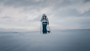 First kilometers on Finnmarksvidda