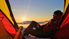 Sværholthalvøya in winter