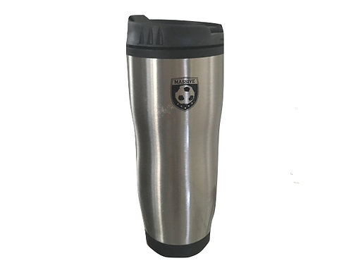 Insulated Coffee Cup with Massive Logo