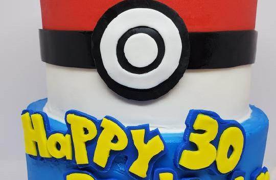 Custom Fondant Birthday Cake