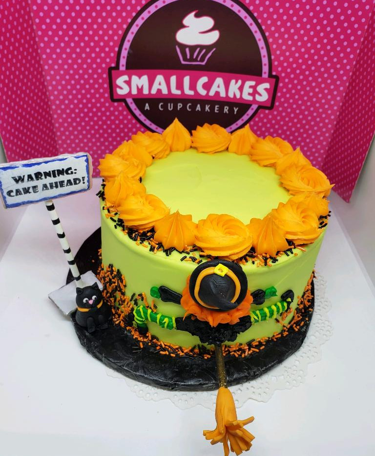 Halloween Themed Cake