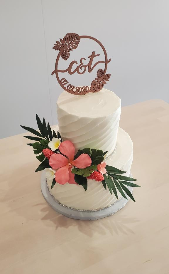 Custom Order Wedding Cake