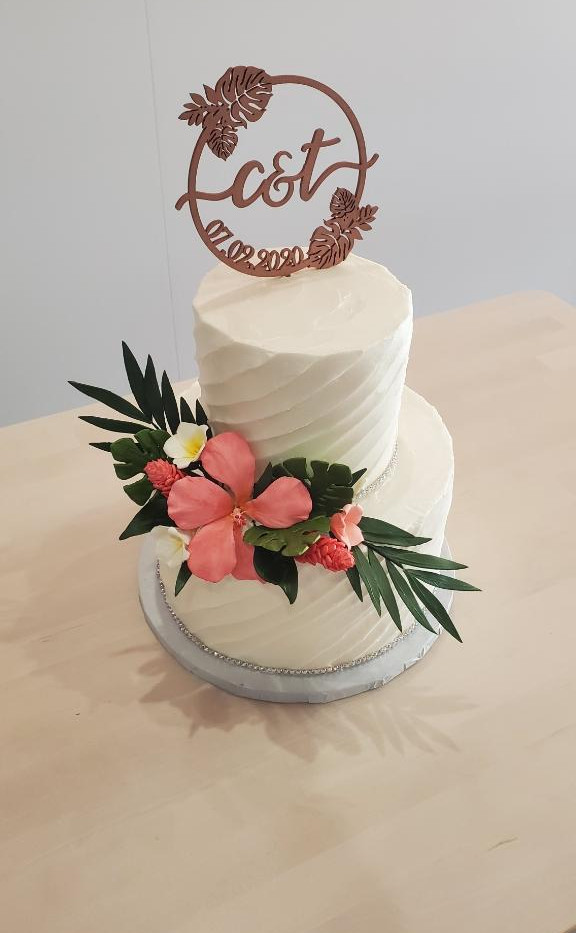 Custom Order Wedding Cake