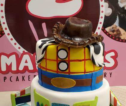Custom Theme Birthday Cake