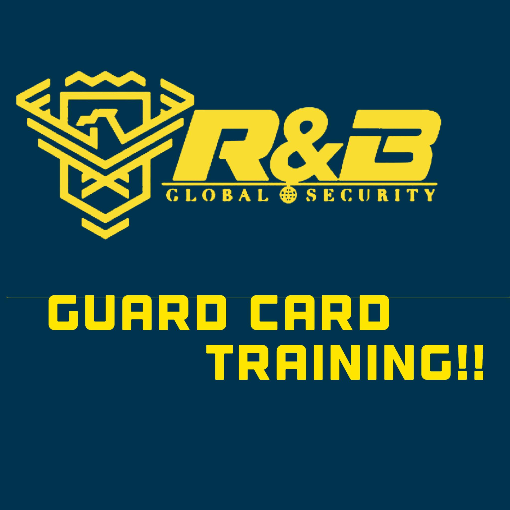 Guard Card Training