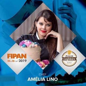 Estandes que você poderá encontrar com Amélia Lino na FIPAN 2019
