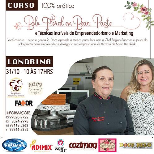Curso Bolos Florais em Bean Paste + Técnicas Empreendedorismo e Marketing