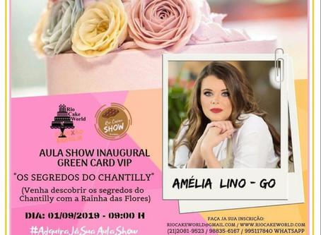 AMÉLIA LINO NO RIO CAKE WORLD - CONEXÃO BRASÍLIA