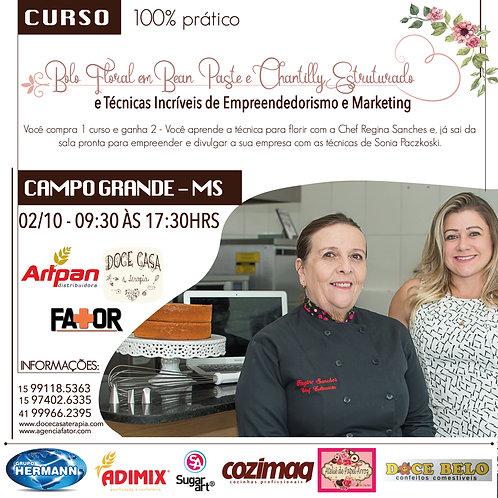 Curso Bolos Florais e Técnicas de Empreendedorismo e Marketing