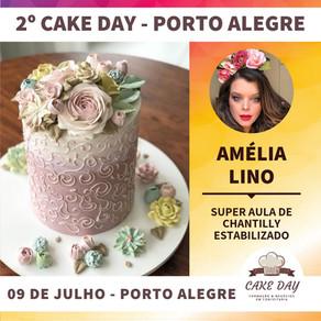 Amelia Lino na Cake Day em Porto Alegre