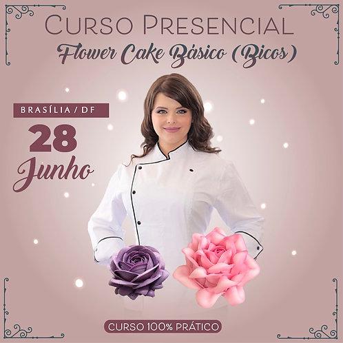 28 junho - FLOWER CAKE BÁSICO