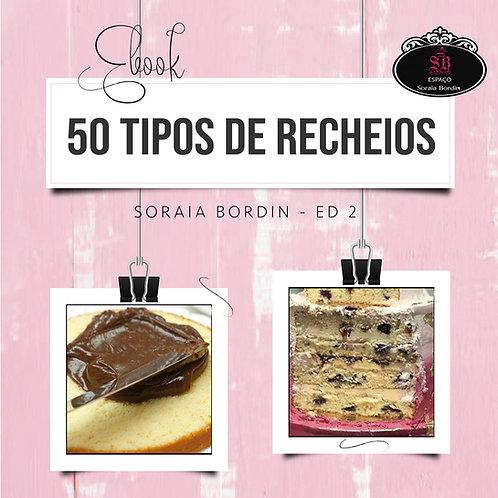 EBOOK 50 TIPOS DE RECHEIOS