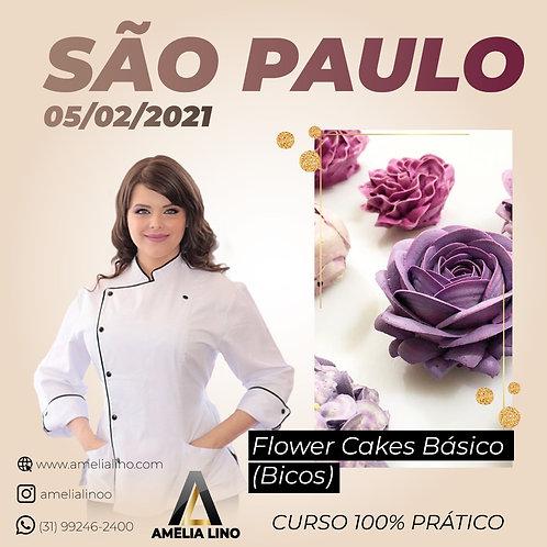 05 fevereiro - FLOWER CAKE BÁSICO