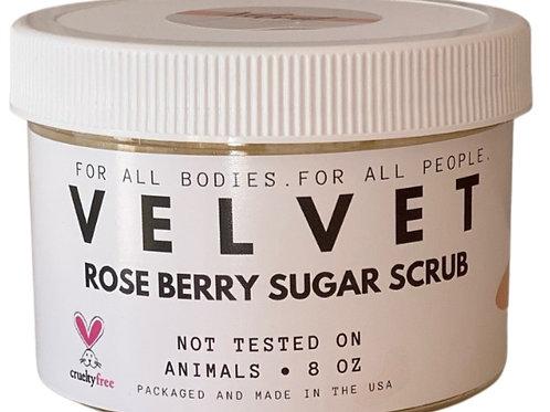 VELVET Rose Berry Sugar Scrub