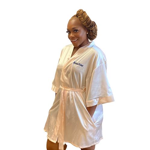 Velvet Satin Robe