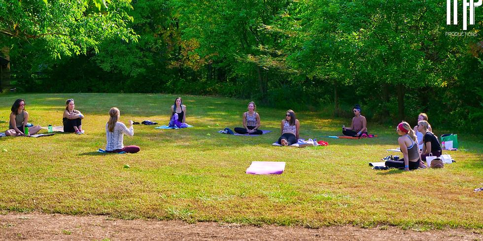 Yoga at Loose Park
