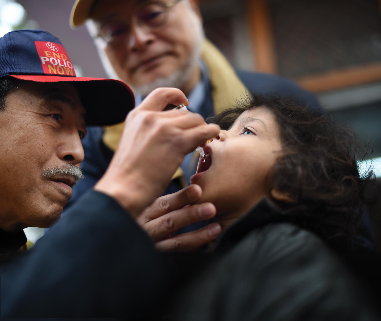 End Polio - Erradicação do vírus da Poliomielite