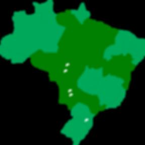 Mapa de atuação da ControlSoft