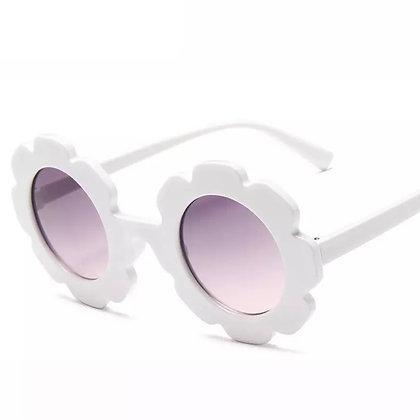 White Flower Sunglasses for Kids