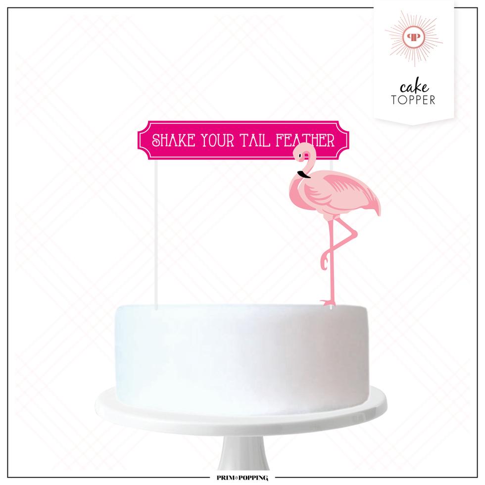 Flamingo | Cake Topper