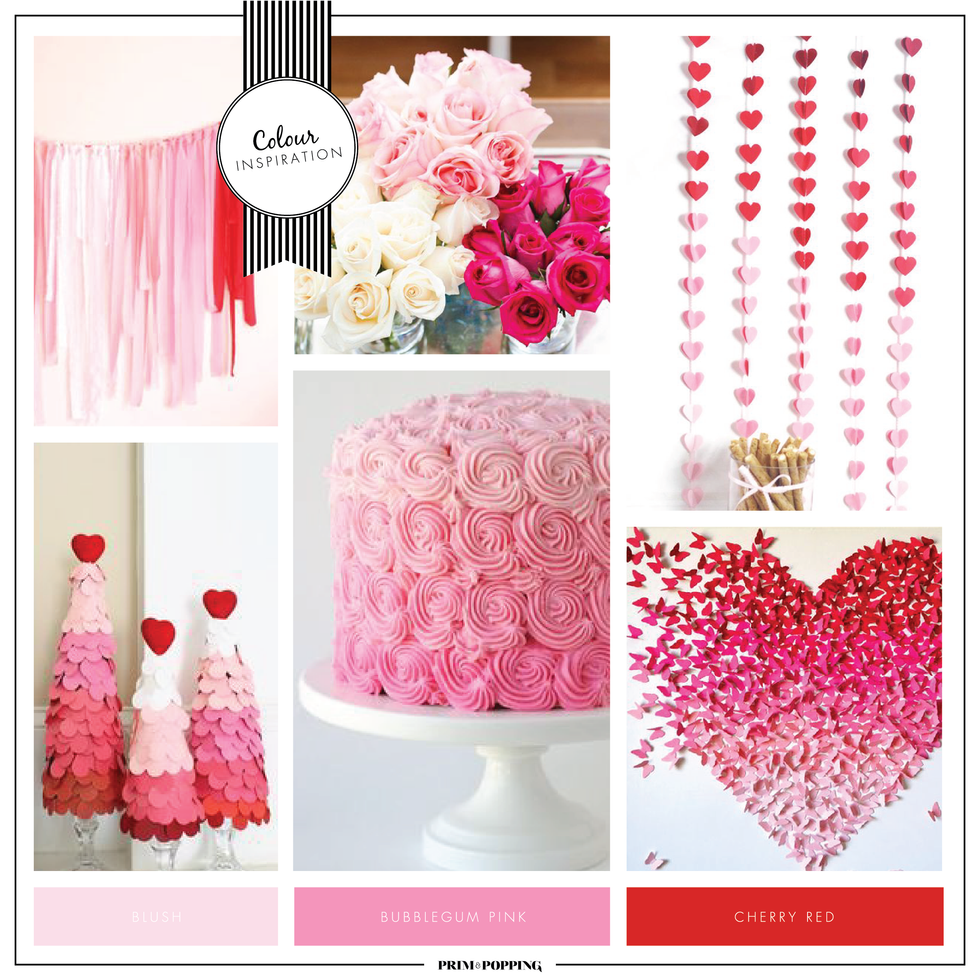 Ombre Valentine's Day | Colour Inspiration