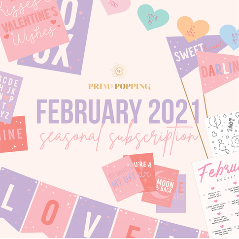 February Monthly Valentine's Day Subscription