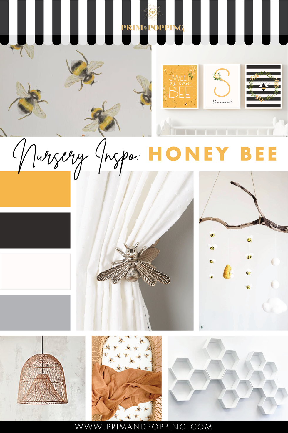 Nursery Inspiration: Honey Bee