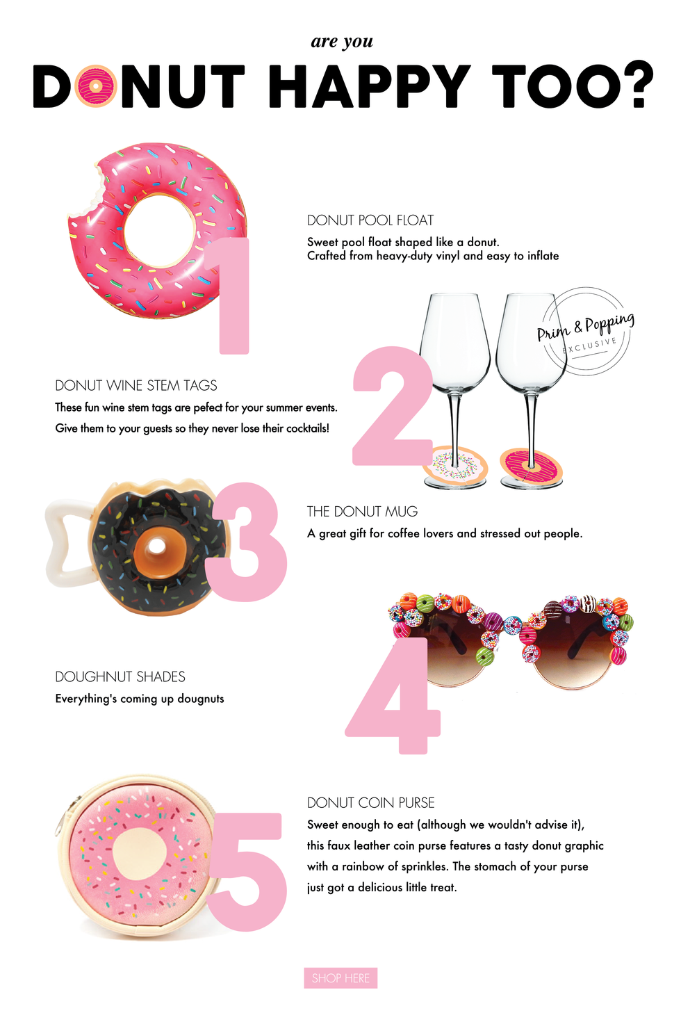 Donut Happy! | Party Trend