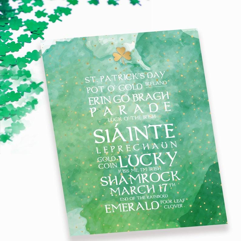 St Patricks Day Art Print